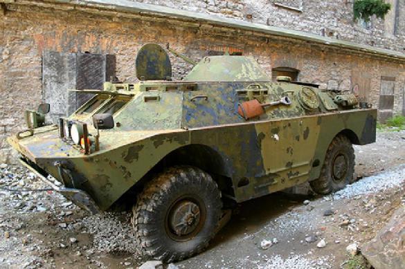 «Сало», «Хлам», «Изделие №2»: украинцы предлагают наименования для свежей бронемашины