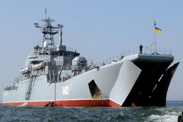 В Киеве потребовали от России отремонтировать брошенные в Крыму украинские корабли. В Киеве потребовали