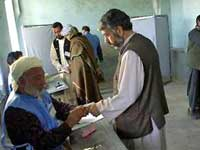 В Афганистане стартовала процедура регистрации в кандидаты на