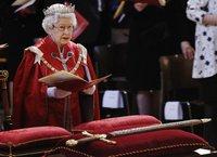 Елизавета Вторая начала юбилейную поездку по королевству. королева