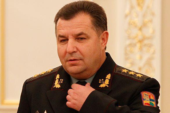 Министр обороны Украины пожаловался на то, что Сергей Шойгу отказывается встретиться с ним. Степан Полторак