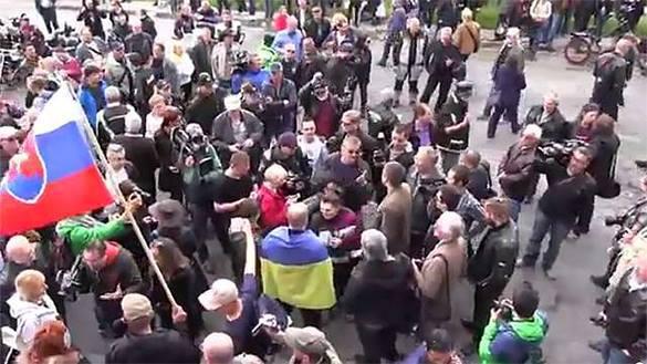 Словаки прогнали украинца криками