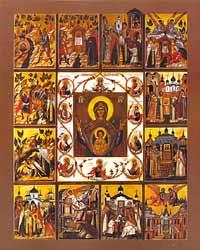 Православная святыня - икона Божией Матери Курская Коренная