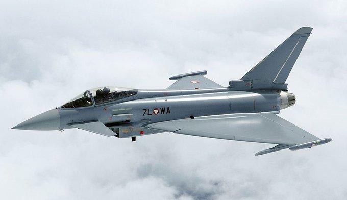Истребители английских ВВС подняли потревоге