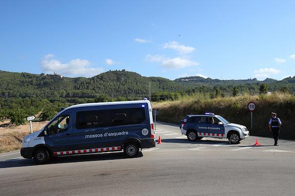 ВКаталонии милиция застрелила мужчину споясом смертника