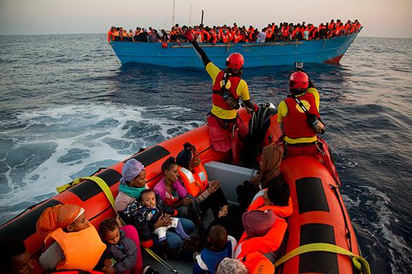 Итальянская береговая охрана спасла 6,5 тыс. мигрантов