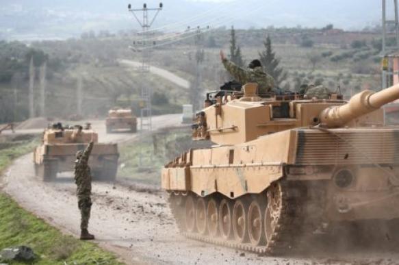 Российские и турецкие военные приступили к совместному патрулированию в Идлибе. 400279.jpeg