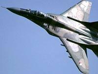 Истребитель МиГ-29 разбился в Сербии