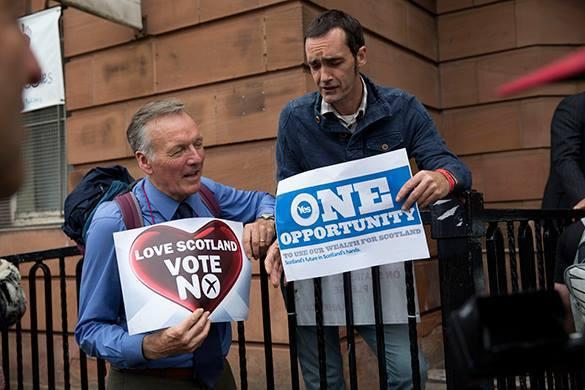 """""""Референдум в Шотландии – прецедент для признания независимости Крыма"""". Референдум в Шотландии – прецедент для признания независимости"""