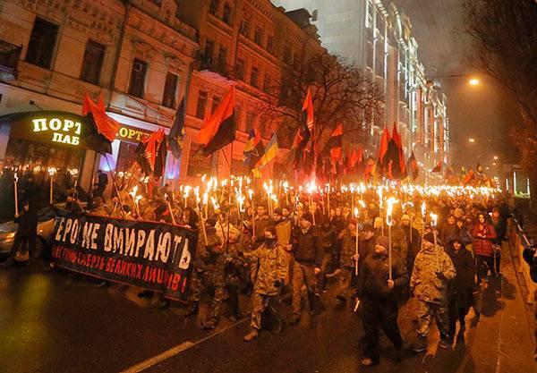 Земан: Марш сторонников Бандеры - это тот же марш нацистов при Гитлере. 308282.jpeg