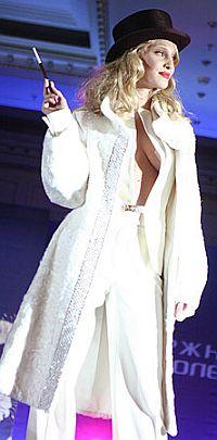 Девушка-модель «Голубой ангел Марлен Дитрих» от Светланы