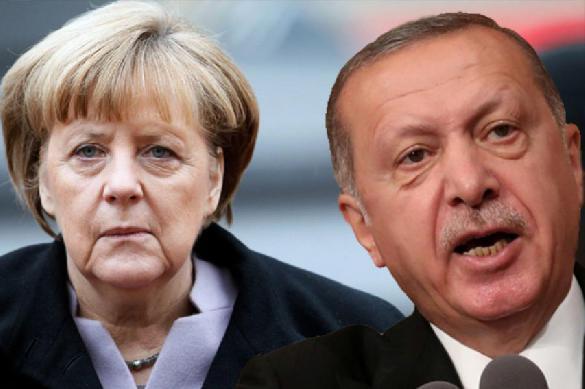 СМИ: Меркель отказалась от банкета в честь Эрдогана. 392283.jpeg