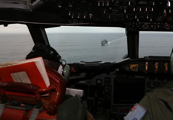 Китайские ВВС, возможно, нашли обломки пропавшего