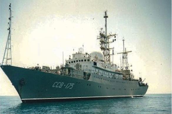 Российский корабль-разведчик замечен у восточного побережья США