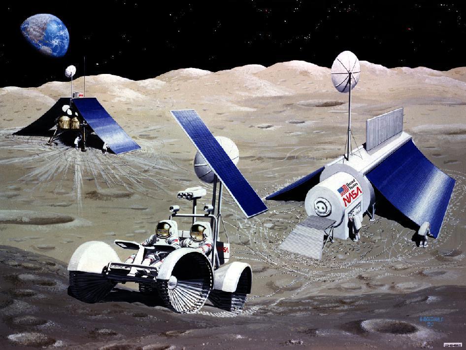 Академик Лев Зеленый считает, что Луна еще один континент Земли. Исследовательские базы на Луне