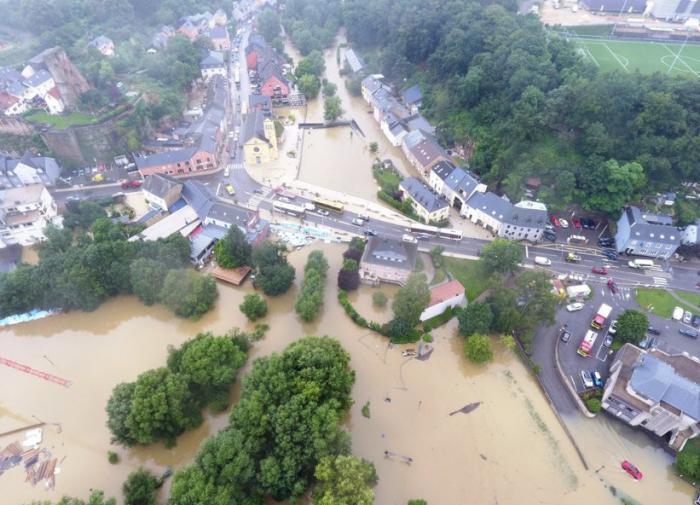 наводнение, Германия
