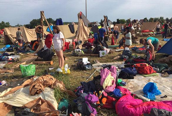 Скаутский лагерь под Страсбургом