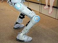 В Японии робот стал тренером по лечебной гимнастике