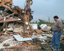 Торнадо едва стер с лица земли Оклахома-сити?