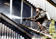 Пожар в московском общежитии потушен