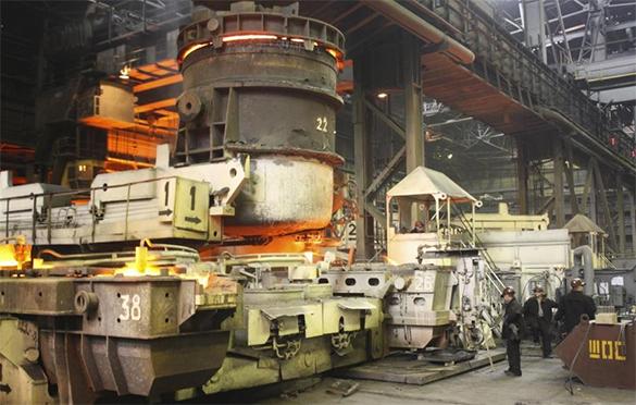 """Украина планирует восстановить """"экономические цепочки"""" с Донбассом. завод промышленность"""