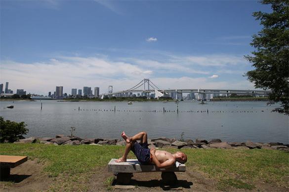 От жары в Японии погибли два человека, пострадали около 3 тыс.