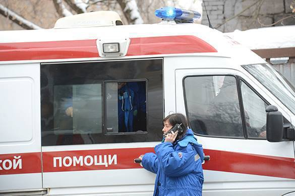 В Иваново двое пьяных инкассаторов перевернули служебную машину