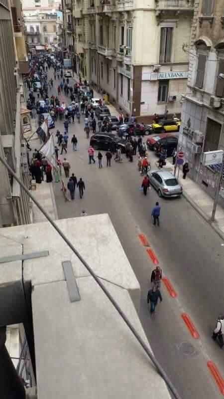 Третий взрыв в Египте
