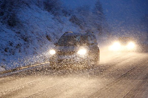 Мощный снежный циклон обрушился на Молдавию и Украину