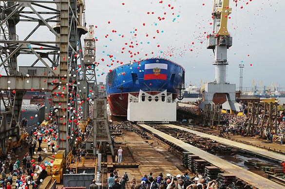 Атомоход «Арктика» начнут испытывать в предстоящем 2018г.