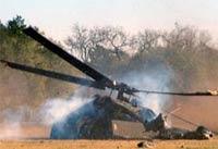Вертолет медслужбы упал в Калифорнии