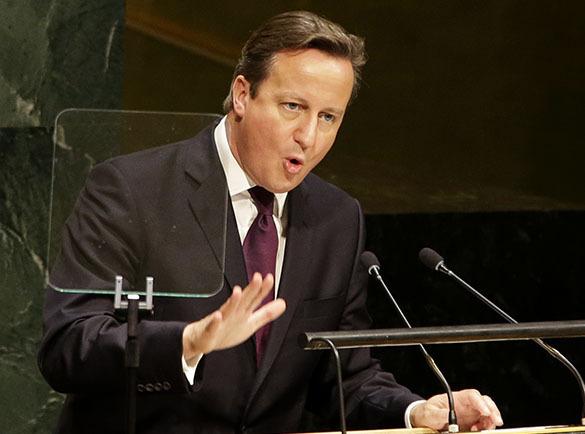 Премьер Кэмерон отпихнулся от своего избирателя?. Кэмерон испугался своего избирателя