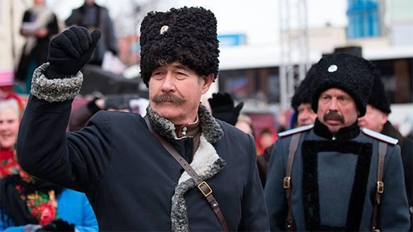 Казаки помогут искать московских уклонистов. Казаки