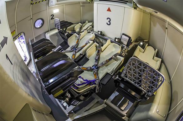 Экипаж корабля «Федерация» получит отдельную туалетную кабинку
