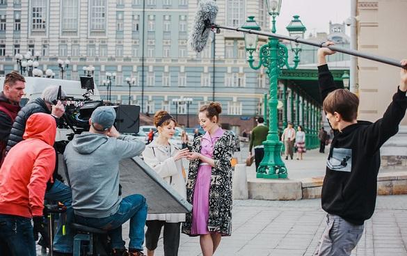 Фильмы и сериалы в Москве чаще всего снимали в