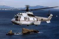 У берегов Шотландии в море «упал» вертолет