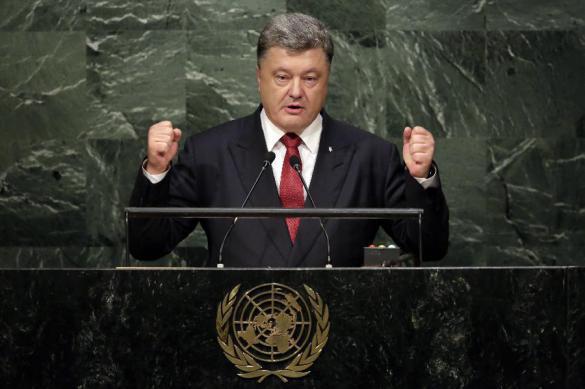 Порошенко заявил о подготовке Россией военного удара по Украине.