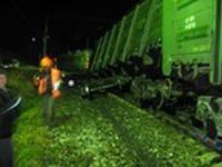 Пьяные хулиганы едва не пустили поезд под откос