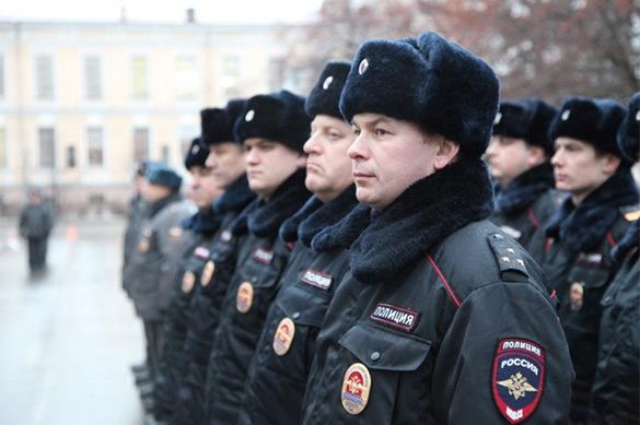Офицеры России поблагодарили полицию за выявление нарушителей
