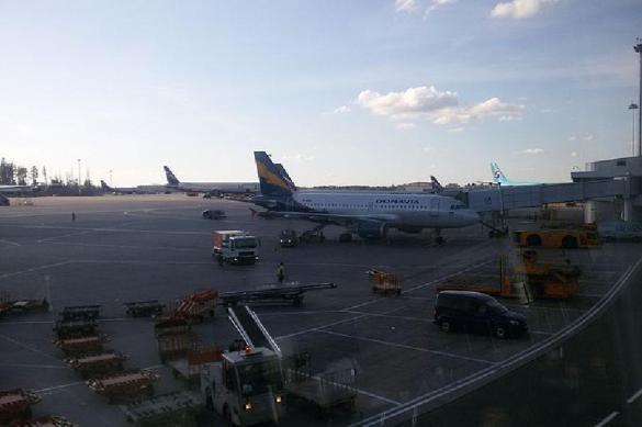 В Шереметьево самолет выкатился за полосу. 380297.jpeg