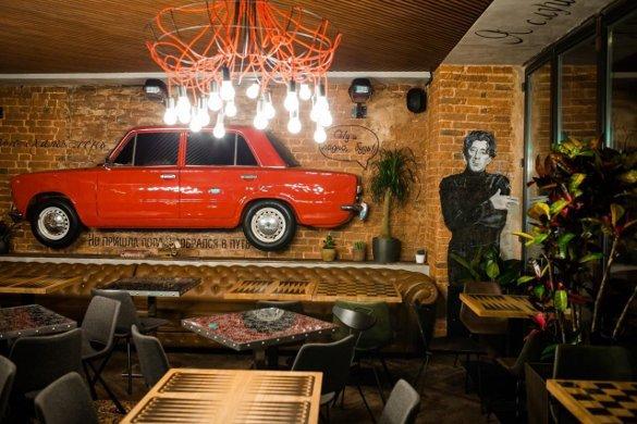 Звезды-рестораторы и их заведения. Рюмочная Лепса
