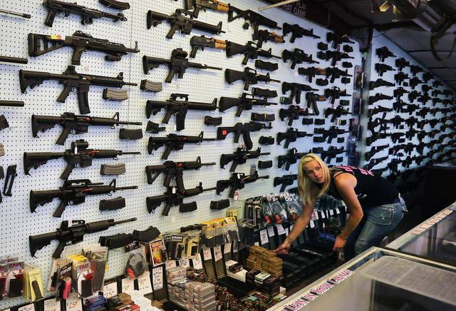 Магазин огнестрельного оружия в Колорадо