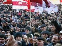В акциях оппозиции приняли участие миллион жителей Грузии