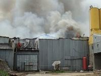 Пожар на рынке в Подмосковье потушен