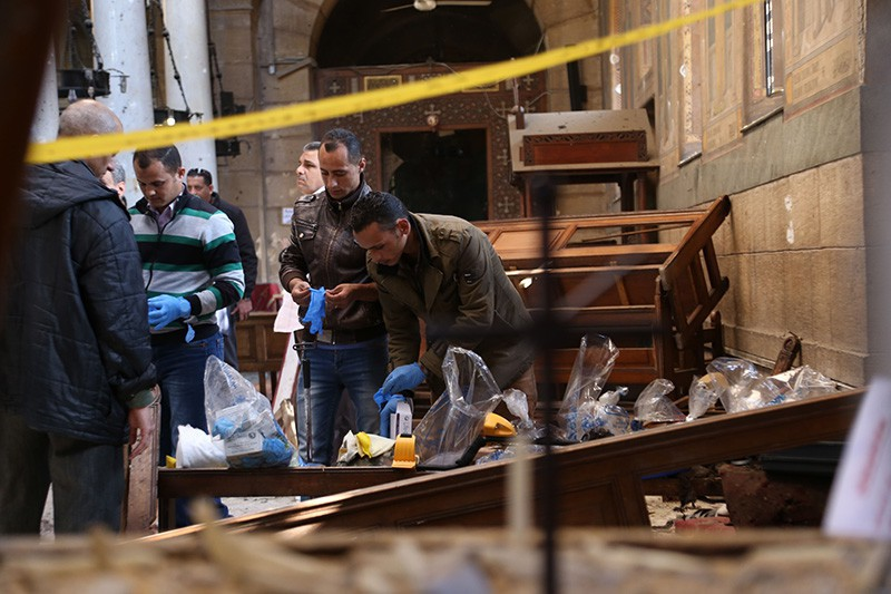 Ответственность за атаки на церкви в Египте взяло на себя Ислам