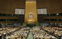 Генассамблея ООН: для начала – два скандала