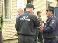В районе сгоревших складов в Ульяновске введен режим ЧС