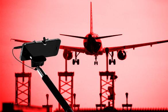 Смертельное селфи в аэропорту: девушки-мексиканки остались без г