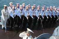 Российские моряки вернулись на родину из Китая