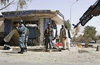 В Афганистане террорист подорвал колонну НАТО. Афганистан